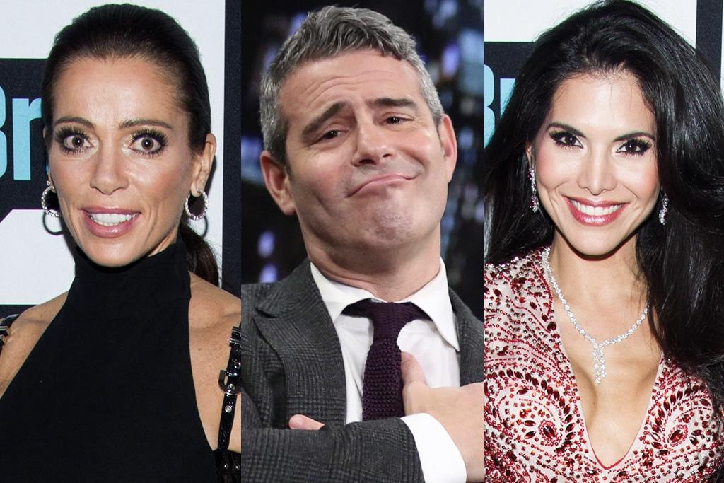 «RHOBH»: Andy Cohen explique enfin pourquoi Carlton Gebbia et Joyce Giraud n'ont pas réussi à être «ménagères»