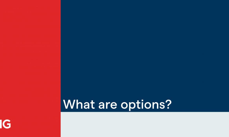 Quelle opération désigne le fait que l'acheteur d'options parié sur la baisse du Sous-jacent ?