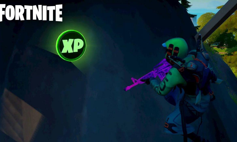 Où se trouvent les pièces d'XP sur fortnite ?