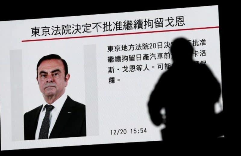 Arrestation du PDG de Renault, Carlos Ghosn au Japon